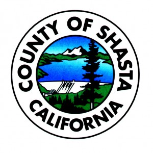 Seal logo for county of shasta