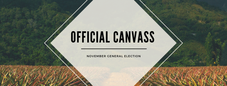 Official Canvass