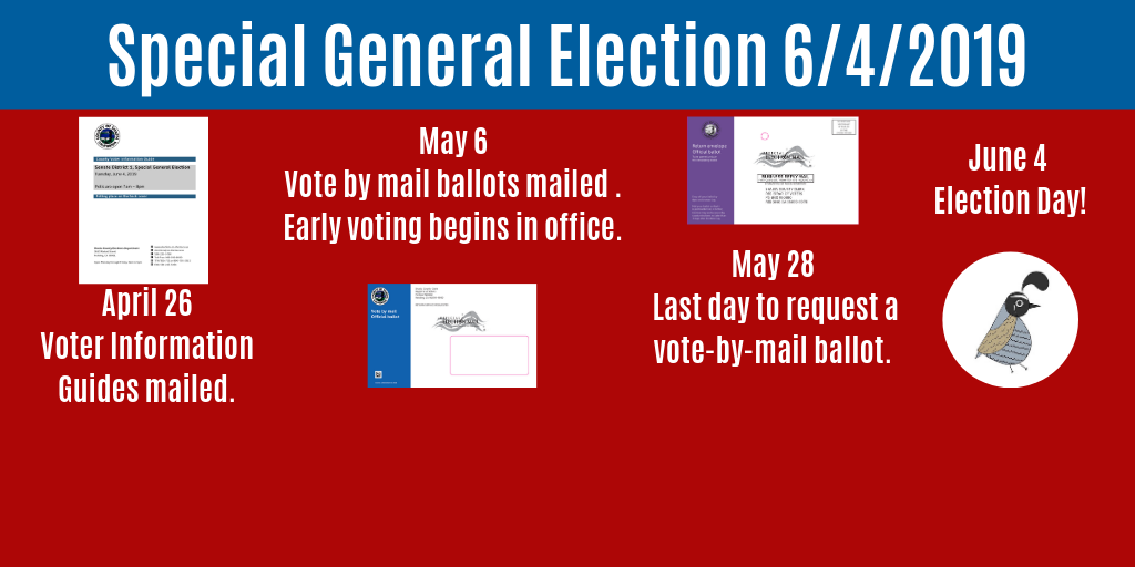 Special General Election June 4, 2019