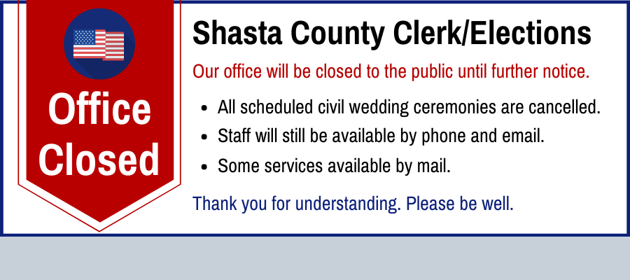 Office Closed to the Public